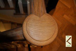 Oak opening cap