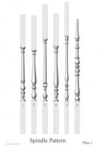 Spindle baluster glossary tereminology