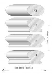 handrail profiles plate 1