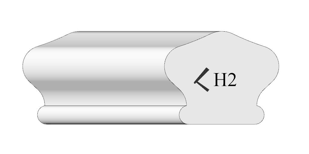 Handrail Profile 2 plate