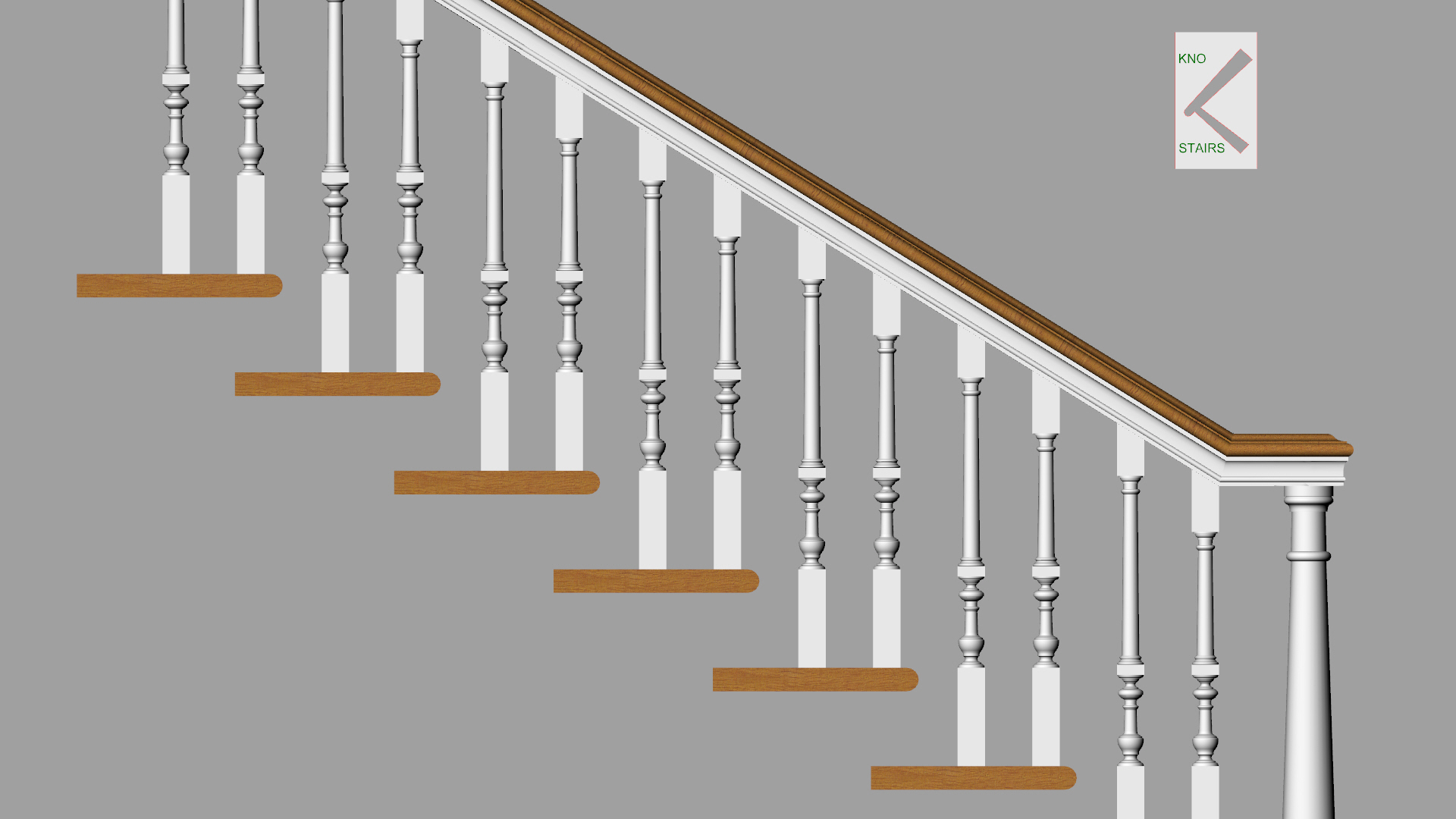 Spindles adjusted for height.