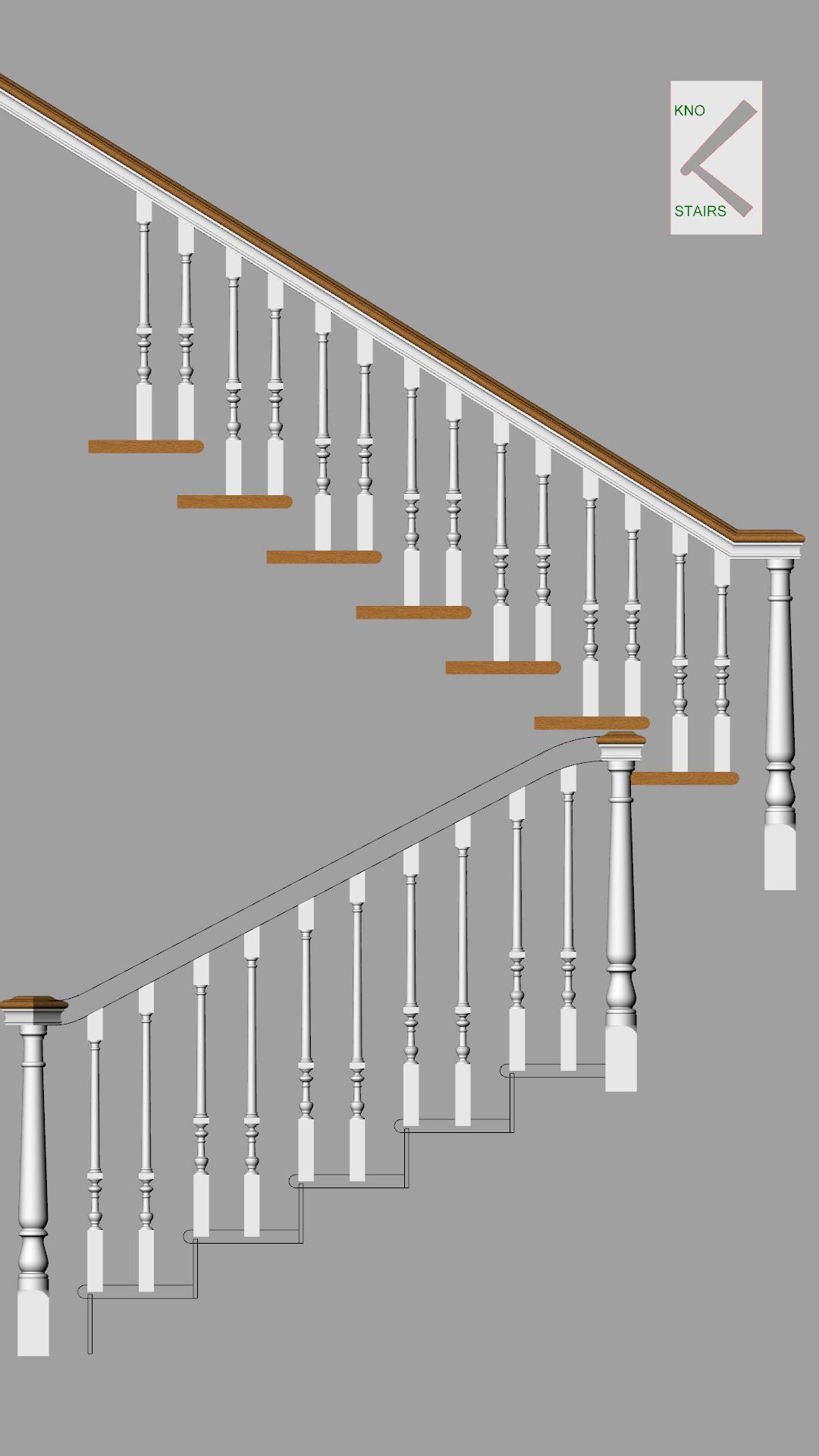 Adjust handrail height.