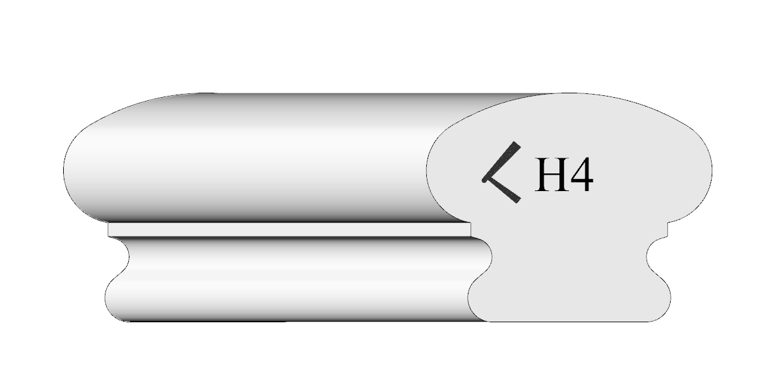 Handrail profile 4 shaded