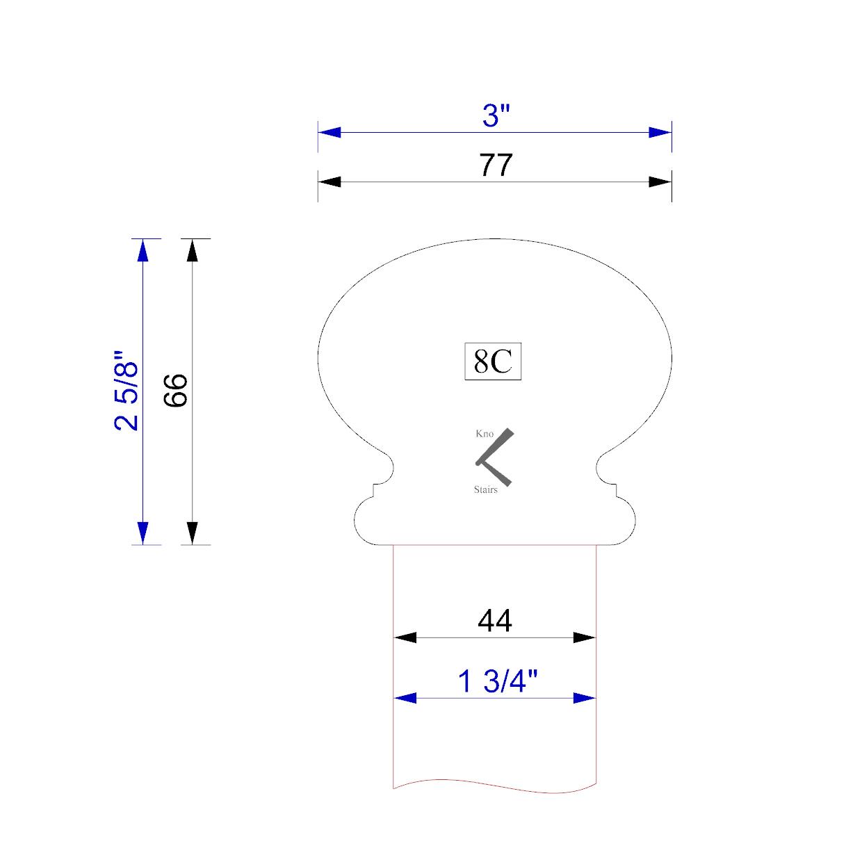handrail profile 8C 44
