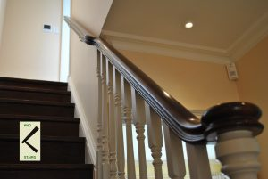 Handrail or bannister rail, Glossary.