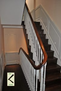 Banister rail staircase glossary