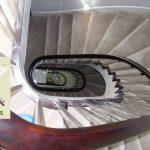geometric stairs.