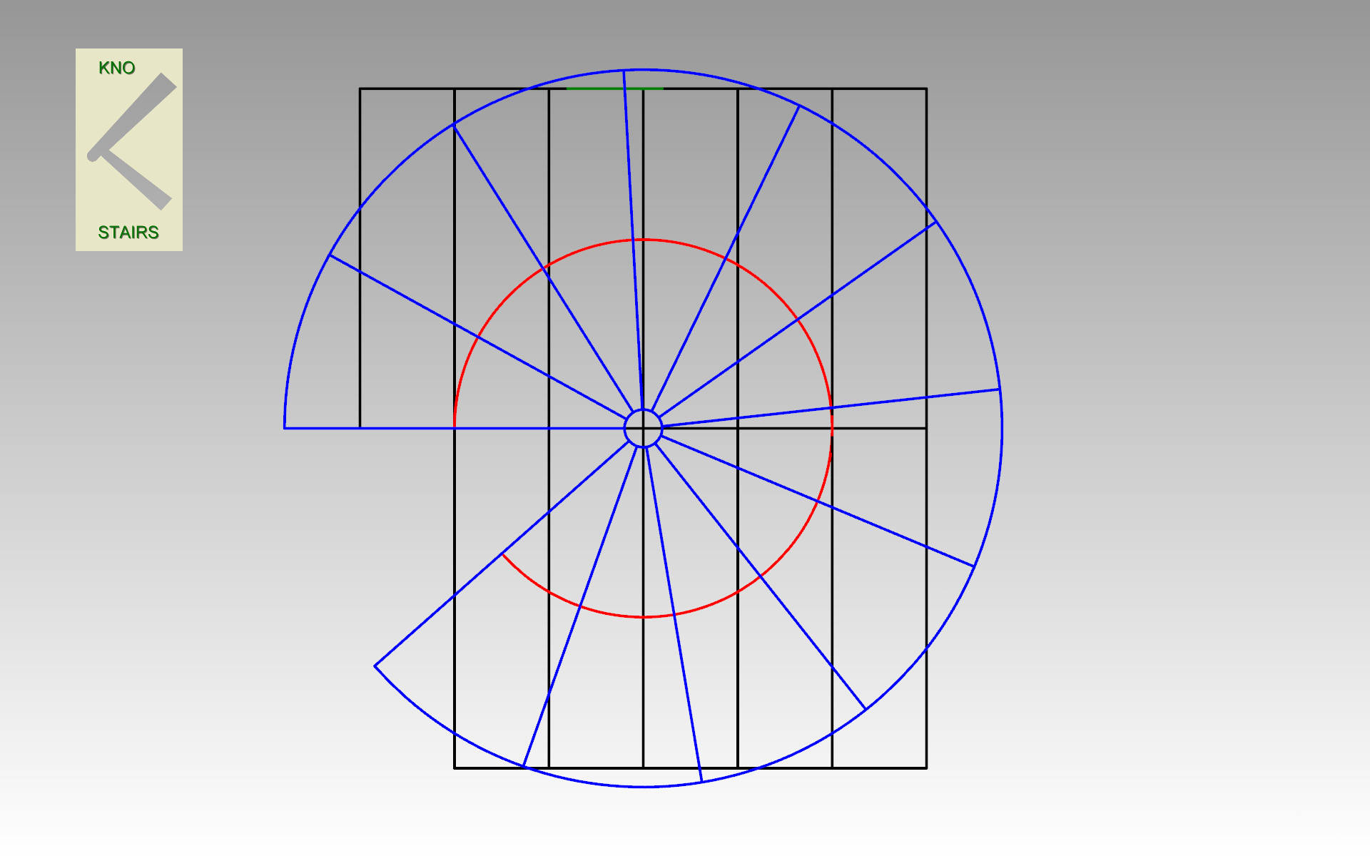 (Diag 6) Spiral straight overlay.
