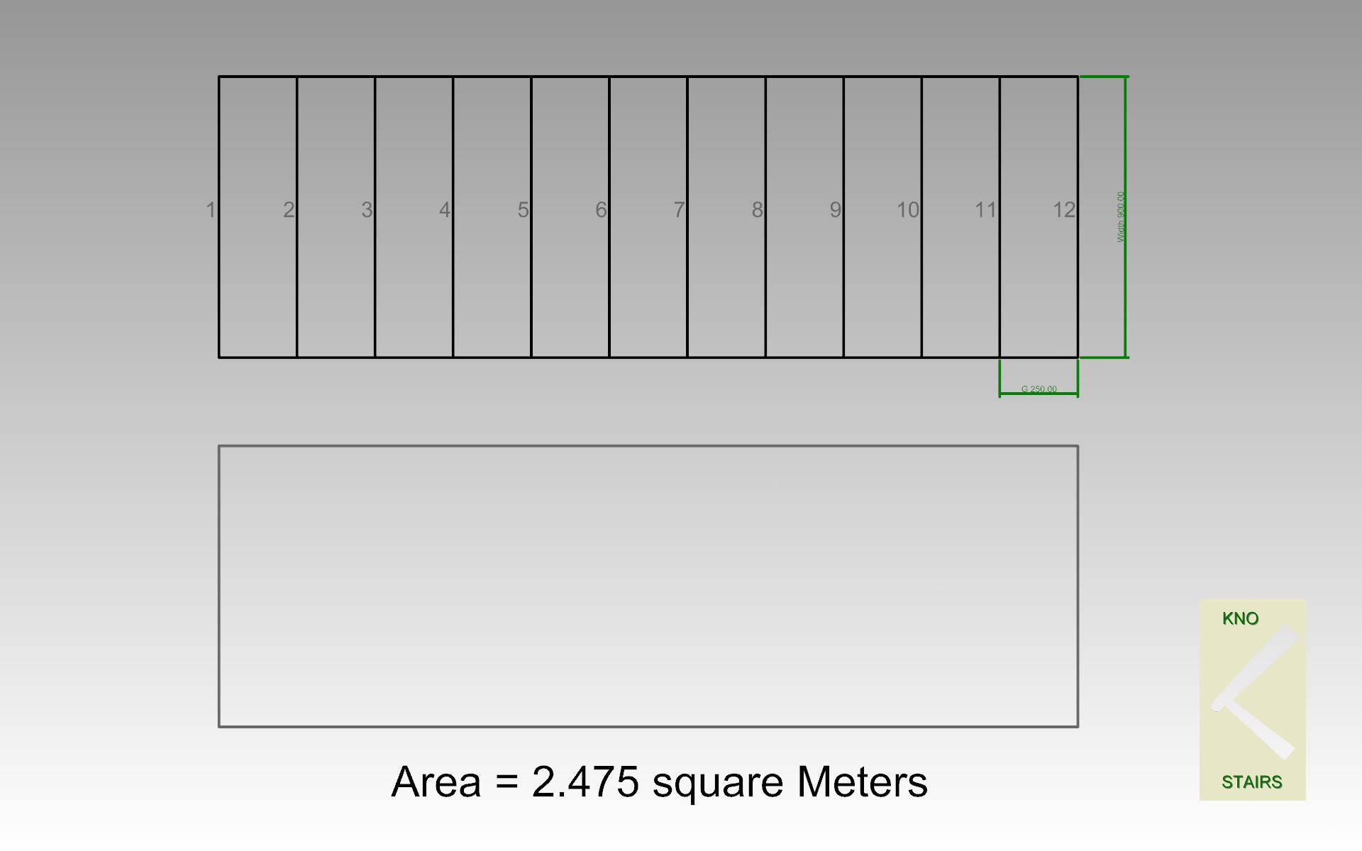 (Diag 5) area of stright flight.