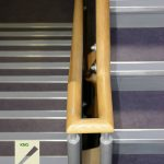 The core rails with adequate room for the mitres.