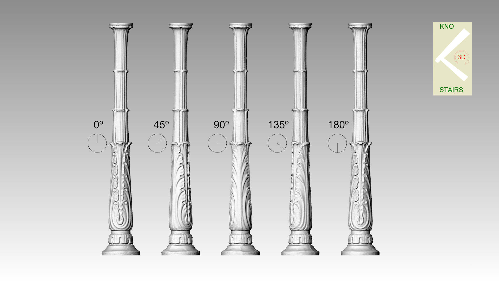 Cast Newel post